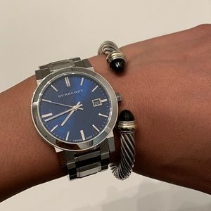 Burberry The City Watch in Sapphire